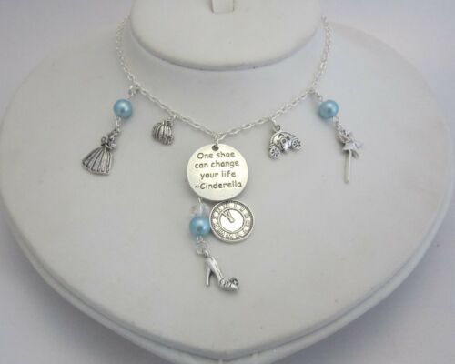 One Shoe Can Change your Life necklace fairy tale jewellery Cinderella gift