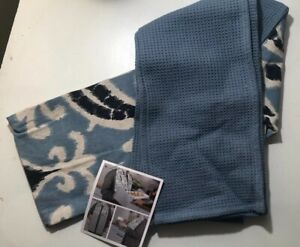 Nwt Fashion By Mirabeau Kitchen Towel Scarf Blues Ebay