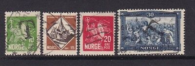 Stamps Norway Used Stamps Sc#150-153 Cv$7 Rich And Magnificent Norway