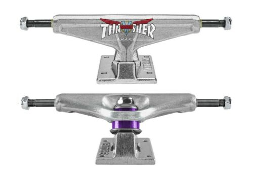 "5.80 High Polish 8.25-8.75/"" 2x VENTURE X THRASHER Trucks Skateboard Achsen Set"
