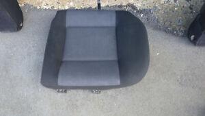 Rücksitzbank, Sitzkissen, hinten links 1/3 schwarz Stoff, VW Golf IV Kombi