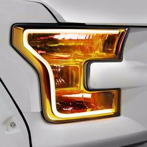 Details About Oracle Lighting Drls For F150 Ford 2017 Amber Led Flex Strip 2396 005