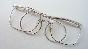 Brille-Klassiker-Spiralbuegel-Metallgestell-Sportbrille-Vintage-Brillen-Groesse-S