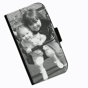 Personalizado-Impreso-Piel-Cartera-Funda-para-telefono-movil-Navidades