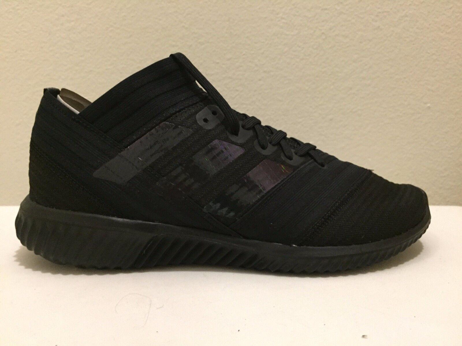 Adidas Para Hombres Zapatos De Fútbol nemeziz Tango 17.1TR Negro BB3660