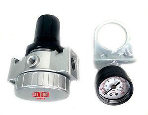 1-2-034-Air-Compressor-Regulator-Industrial-Grade-W-Pressure-Gauge-Mount-Bracket