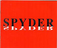 Maserati Spyder 1989-91 UK Market Bilingual Sales Brochure 2.0 2.8