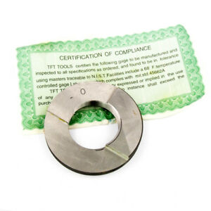 Ring Pipe Thread Gages 1-1//4-11-1//2 NPT Class L1