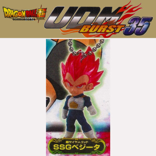 Bandai Dragon Ball Super UDM Burst 35 Gashapon-el SSG Vegeta