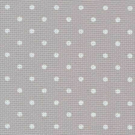 Zweigart Grey Dots Petit Point 20 Count Aida Multiple Sizes Available