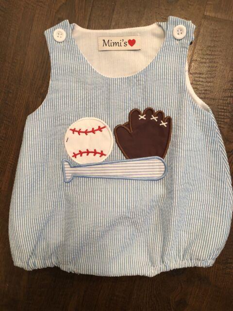 baby boy clothes 3-6 Months summer Baseball Bubble   eBay