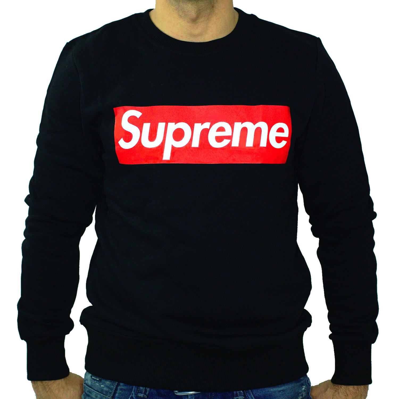 Supreme Supreme Supreme Italia Pullover Sweatshirt Europe Sweater Swag Hip Hop rot Box Logo   Einfach zu bedienen  83fd88