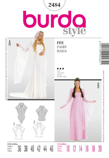 Burda Style Schnittmuster - Kostüm - Fee - Kleid - Nr.2484