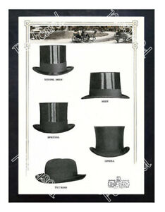 Historic-Dunlap-amp-Co-Men-039-s-Hats-1910s-Advertising-Postcard