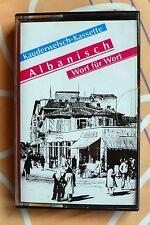 """MC """"Albanisch Wort für Wort""""_Kauderwelsch-Kassette_zum Buch_Albanien_Kosovo_"""