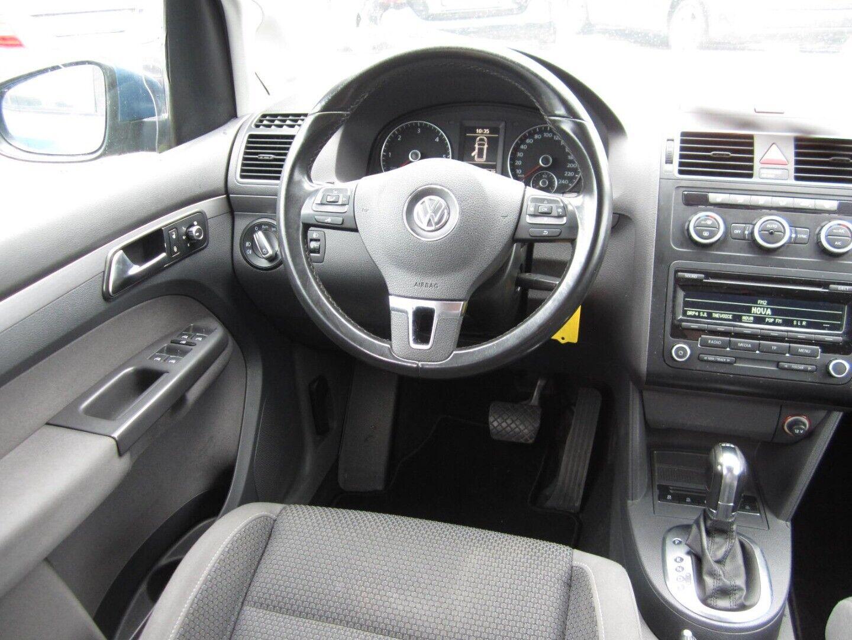 Brugt VW Touran TDi 105 Comfortl. DSG BMT 7prs i Solrød og omegn