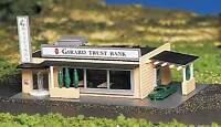 Bachmann N Scale Girard Trust Bank Model Railroad Train Building Kit 45804 NEW Toys
