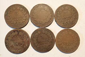 (Piece) - Set 6 Pieces 5 Cents Ceres (5204J)