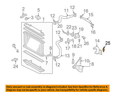 [SCHEMATICS_4NL]  TOYOTA OEM-Radiator Coolant Temperature Sensor 8942235010 | eBay | Lexus Engine Cooling Diagram |  | eBay