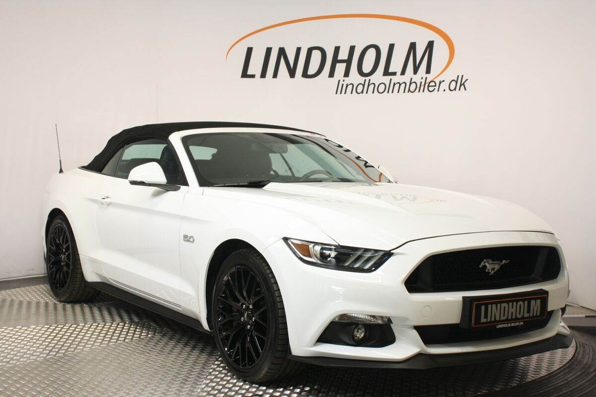 Ford Mustang 5,0 V8 GT Convertible aut.