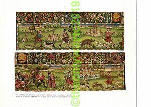 Panels-English-Tapestry-Valance-V-amp-A-Museum-Book-Illustration-Print-1934