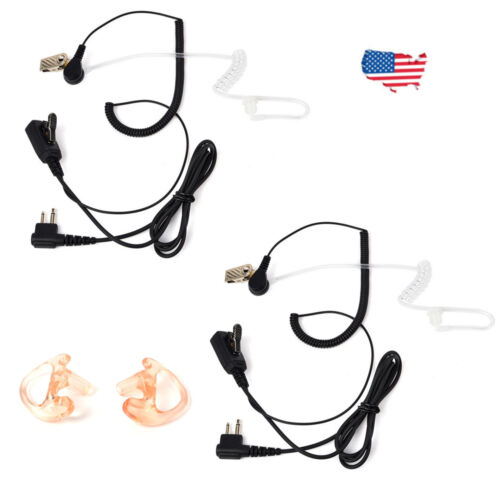 Earpiece Headset For Motorola CP200 CP200D PR400 GP300 CLS1110 Portable Radio US