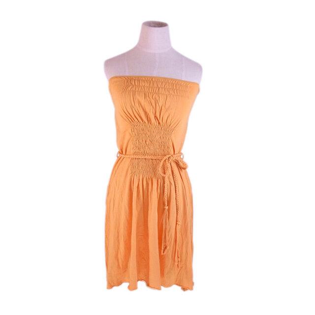 Chloe One piece orange Woman Authentic Used G1198