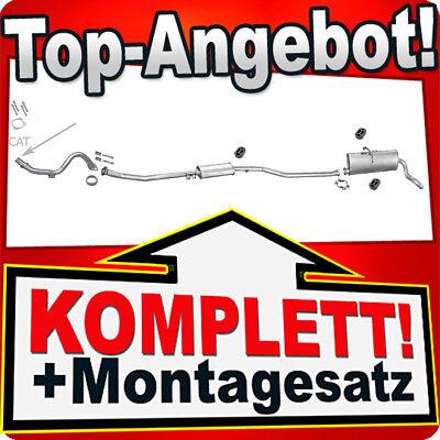 Rohr Auspuffanlage M36 Auspuff CITROEN BERLINGO PEUEGOT PARTNER 1.6 16V 00-03