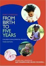From Birth to Five Years: Children's Developmental Progress by Sharma, Ajay, Co