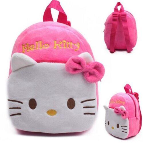 Mini Hello Kitty Bag School Kids Shoulder Children Girls Bookbag Cartoon Travel