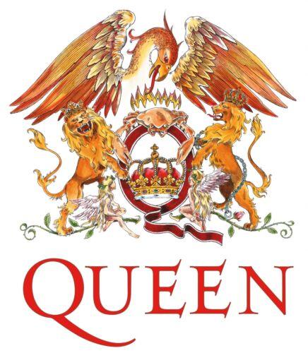 Band Logos # 19-8 x 10 T-shirt iron-on transfer Queen