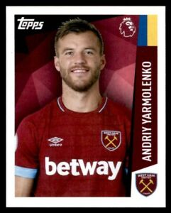 separation shoes 8ea82 66f6a Details about Merlin Premier League 2019 - Andriy Yarmolenko West Ham  United No. 295
