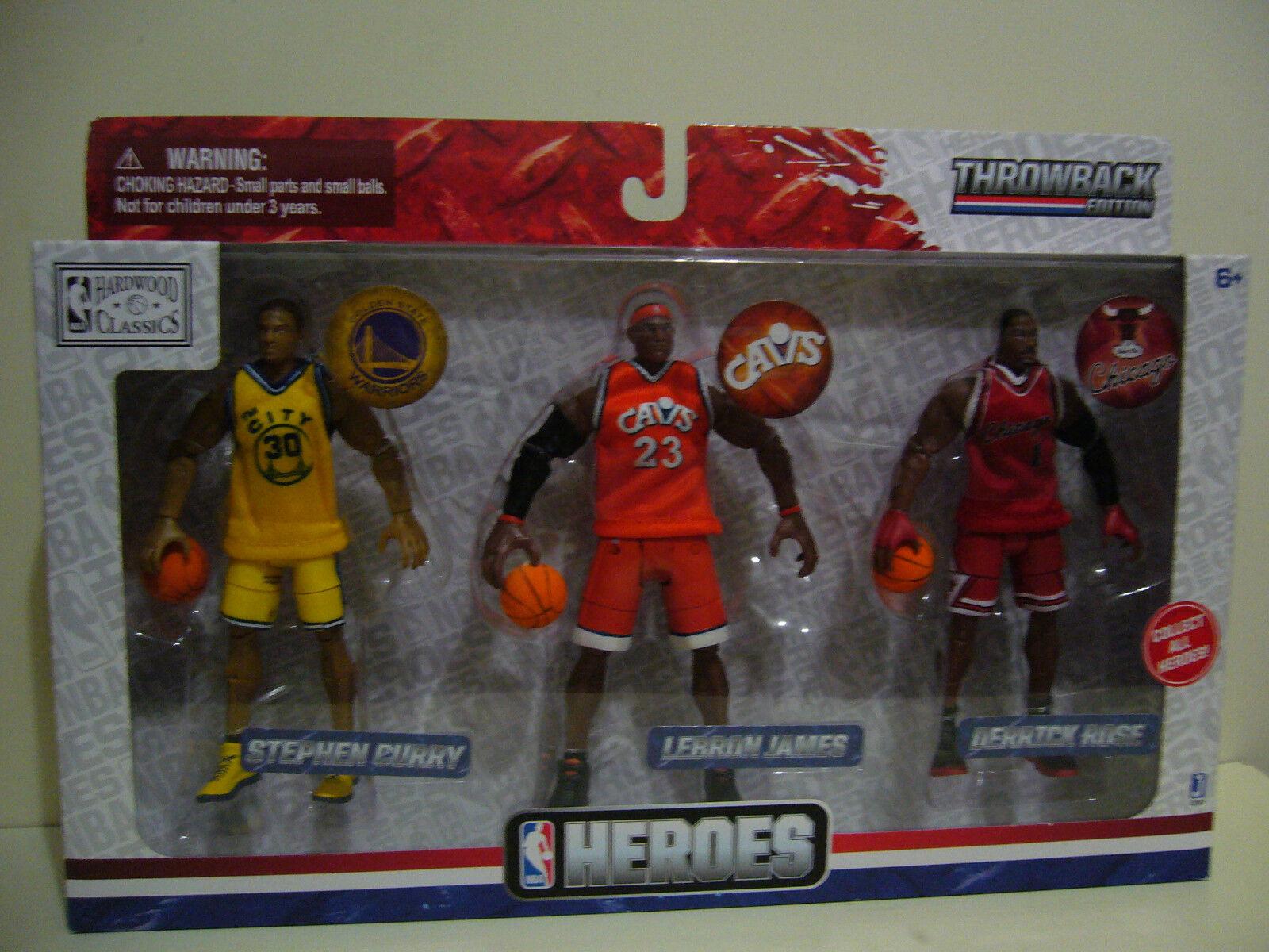 Héroes de la NBA 3-Colección De Figuras Raras