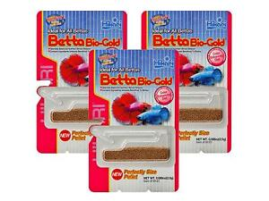 Hikari Betta Bio-Gold Baby Pellets Fish Food Bundle Bonus Pack 3 Pack
