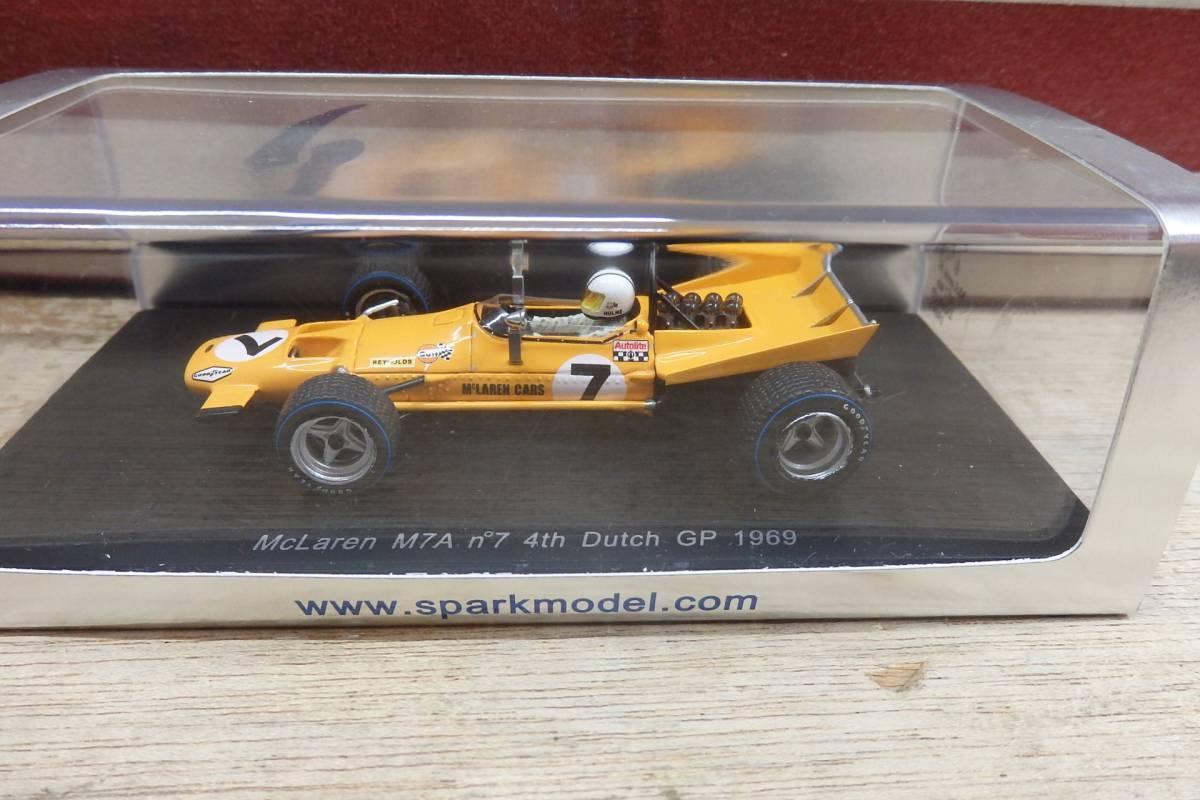 Spark 1 43 McLaren M7A th Dutch GP 1969 Denny Hulme S3119