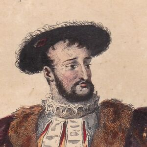 Portrait-XIXe-Francois-Ier-Valois-Duc-Milan-Renaissance-Concordat-de-Boulogne