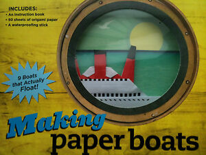 Making-paper-boats-kit-9-boats-that-actually-float-Origami-CRAFT-ENGINEERING