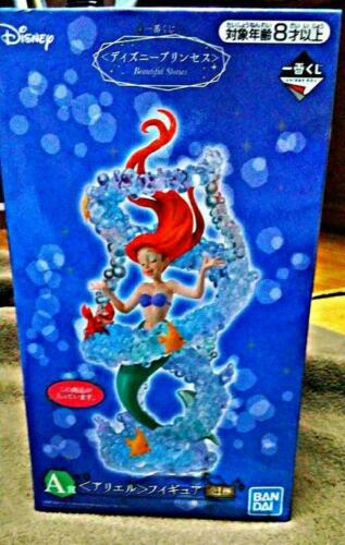 Ichiban Kuji DISNEY PRINCESS Prize A The Little Mermaid ARIEL figure NEW