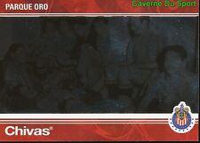 017 PARK GOLD MEXICO RARE METAL CARD 100 YEARS OF CHIVAS GUADALAJARA PANINI