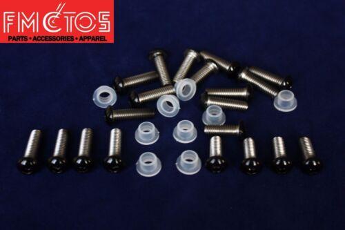 Complete Fairing Bolt Kit body screws for Honda CBR954RR 2002-2003 Stainless