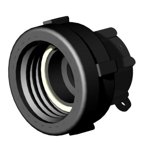 "40mm - drehbar IBC ADAPTER 360° PP//GF DN50 S60x6 IG auf 1,25/"" IG BSP"