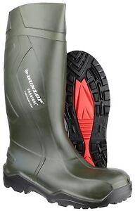Dunlop-Purofort-TOTAL-SEGURIDAD-UNISEX-VERDE-Meter-Botas-para-la-lluvia-uk3-14