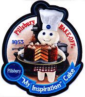 5.5-9 Pillsbury Doughboy Wall Sticker Glossy Border Character Cut Out