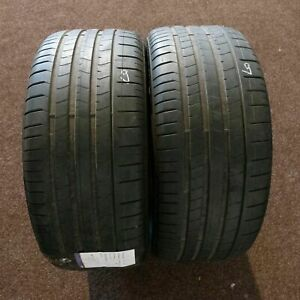 2x-Pirelli-P-Zero-285-40-r21-109y-Dot-2818-6-mm-pneus-d-039-ete