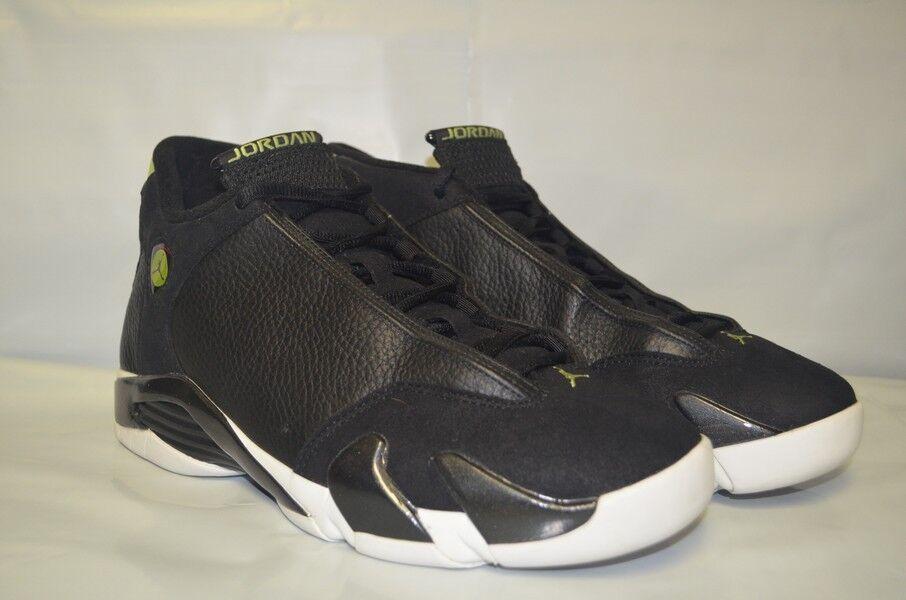 Nike Air Jordan 14 XIV OG Nero White Indiglo Size 11 136017-002