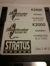 Kurzweil ~ New Old Stock ~ HAMMOND B3 vol.TWO ~ Kurzweil V.A.S.T Programs!!!