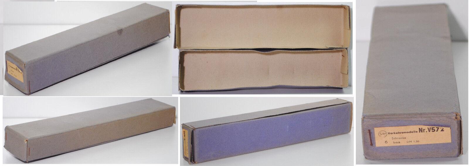 SIKU v572 Camp carton Distributeur Emballage