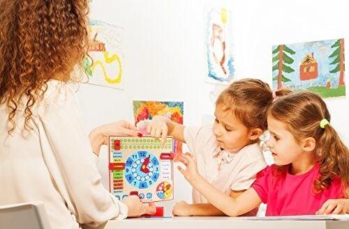 Pidoko Kids Calendar Learning Board Autism Sensory Design Decor Calming Safe Fun