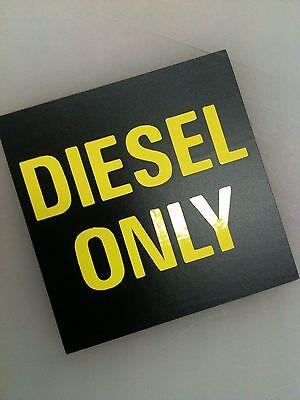 4x Diesel Only Decal Sticker Vinyl Gas Tank Fuel Ram Powerstroke Ih Turbo