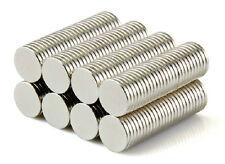 "50PCS 3/8""x1/16"" Neodymium Disc Super Strong Rare Earth N50 Small Fridge Magnets"